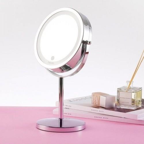 Gương trang điểm 2 mặt phóng to 5 lần có đèn LED Beurer BS69