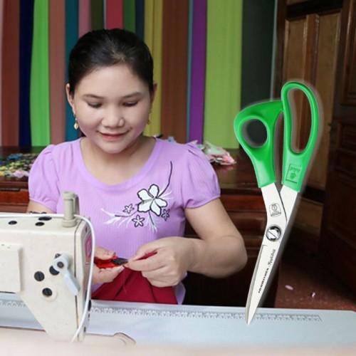 Kéo cắt vải Nguyễn Đình 9 inch Nhơn Hòa NHK-9TN - Xanh