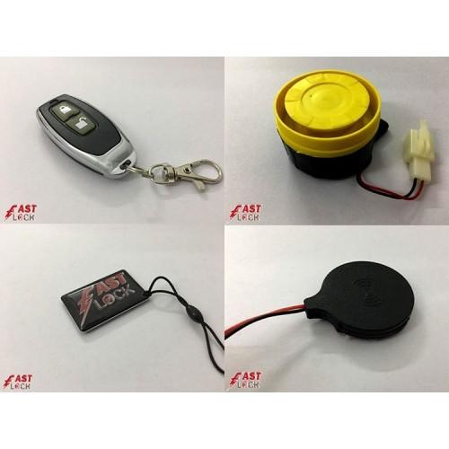 Khóa chíp chống trộm xe máy Fast Lock MODE - Có Remote tìm xe