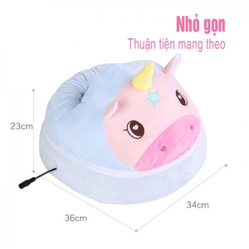 Máy massage chân hồng ngoại hình thú Cute Yijia YJ-Z9