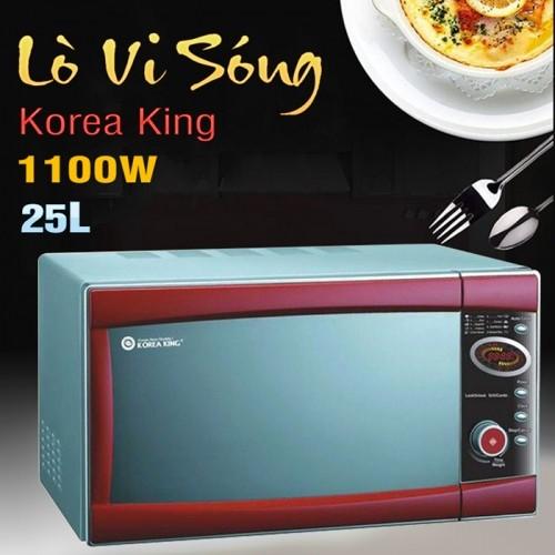 Lò vi sóng đa năng cao cấp Korea King KMW-25Q8G/S - 25L
