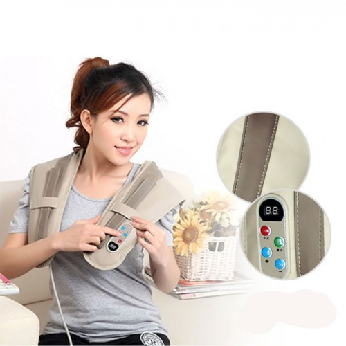 Máy massage đấm bóp cổ vai gáy lưng Hàn Quốc PULI PL-902/ 903