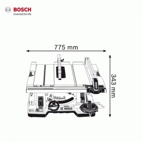 Máy cưa bàn BOSCH GTS 10XC - 1800W