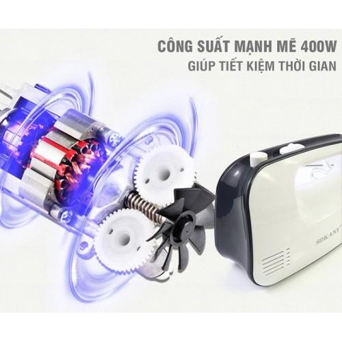 Máy đánh trứng cầm tay 3 tốc độ Sokany CX-6618 - 400W
