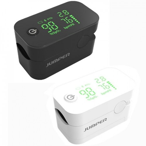 Máy đo nồng độ oxy trong máu SPO2 và nhịp tim Jumper JPD 500G - Có Bluetooth