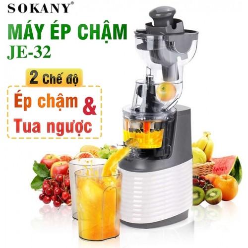 Máy ép trái cây chậm dòng cao cấp Sokany JE-32 - 300W
