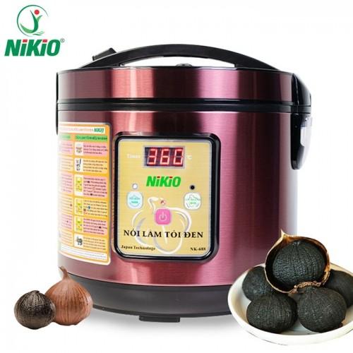 Nồi làm tỏi đen Nhật Bản Nikio NK-688 - Đỏ tím, làm 1.5kg tỏi