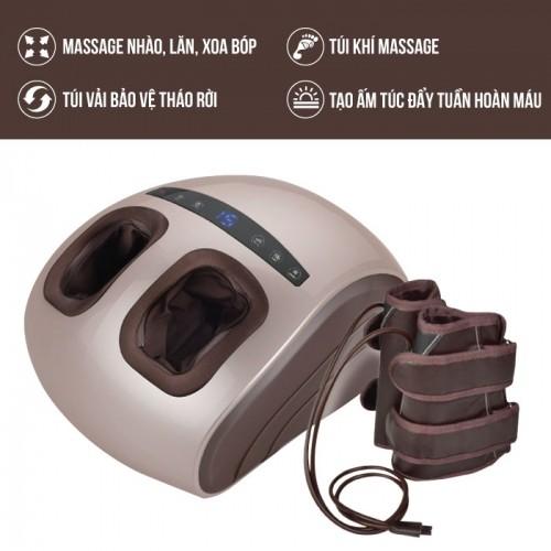 Máy massage chân áp suất khí Nhật Bản Nikio NK-188 - 2in1