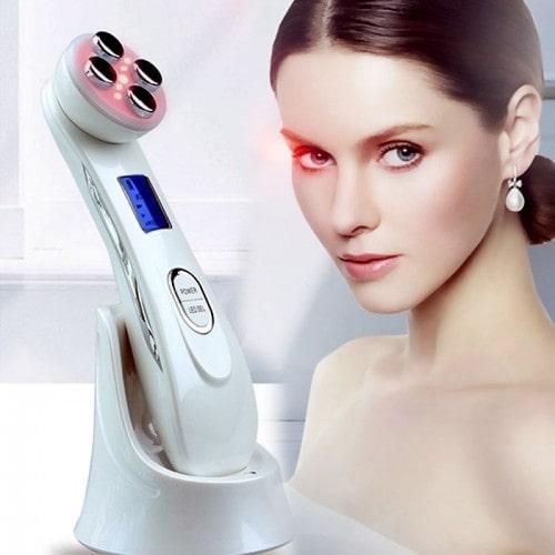 Máy massage mặt điện di RF chăm sóc da mặt đa chức năng 9902 - 3in1