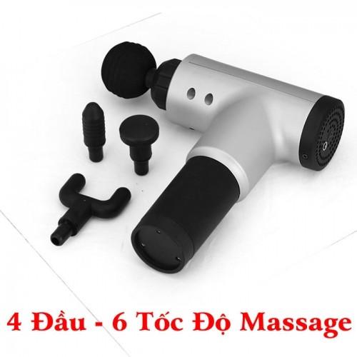 Súng massage cầm tay trị đau mỏi cơ Fascial Gun KH/ HG-320