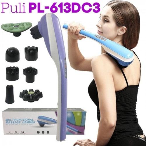 Máy massage cầm tay pin sạc 7 đầu Puli PL-613DC3