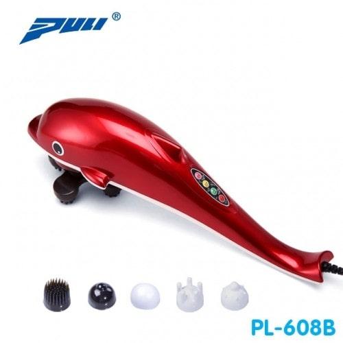 Máy massage cầm tay cá heo 6 đầu PULI PL-608B - Điện tử