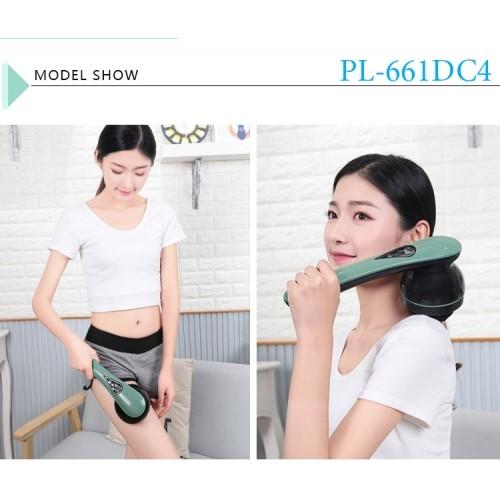 Máy massage cầm tay pin sạc 8 đầu PULI PL-661DC4 - Điện tử