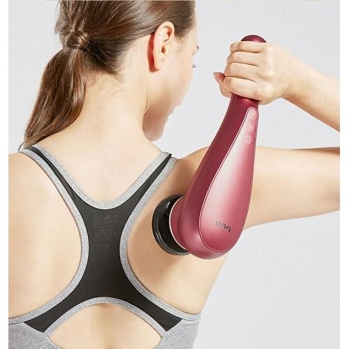 Máy massage cầm tay pin sạc 4 đầu đa năng PULI PL-622 - Đầu nóng 60 độ