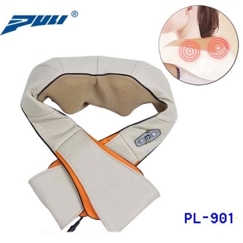 Máy massage vai cổ 8 bi hồng ngoại cao cấp PULI PL-901