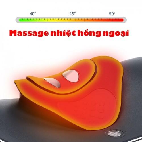 Máy massage cổ xung điện đa chức năng RED FLOWER RF-022