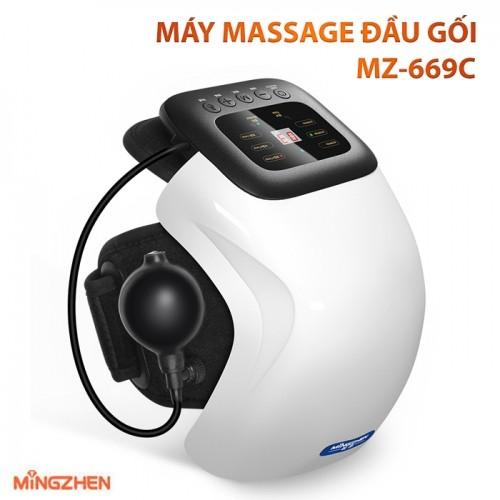 Máy massage đầu gối áp suất khí và tạo nóng Ming Zhen MZ-669C