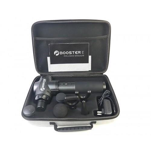 Súng (máy) massage gun giảm căng cơ Mỹ Booster E chính hãng - 135W, 6 đầu, 9 tốc độ