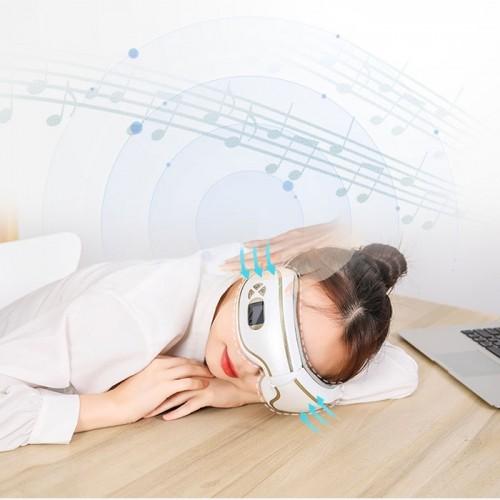 Máy massage mắt xoa bóp áp suất khí có nhiệt sưởi YIJIA YJ-518