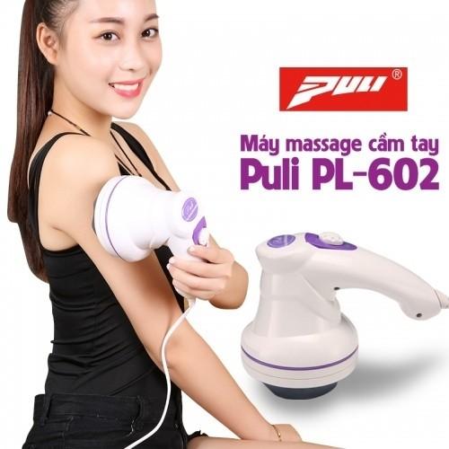 Máy massage bụng cầm tay 3 đầu Hàn Quốc Puli PL-602
