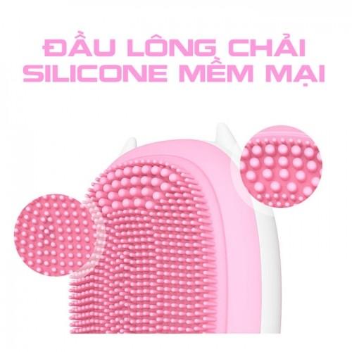 Máy massage rửa mặt pin sạc mini Hàn Quốc TL-802