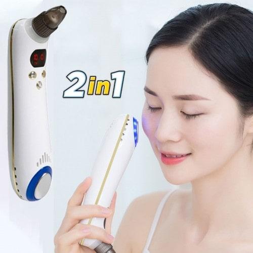 Máy hút mụn kết hợp đầu massage nóng lạnh SLL-21 - Cao cấp