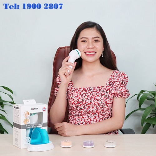 Máy massage và rửa mặt pin sạc cao cấp CNAIER AE-8286B 4in1