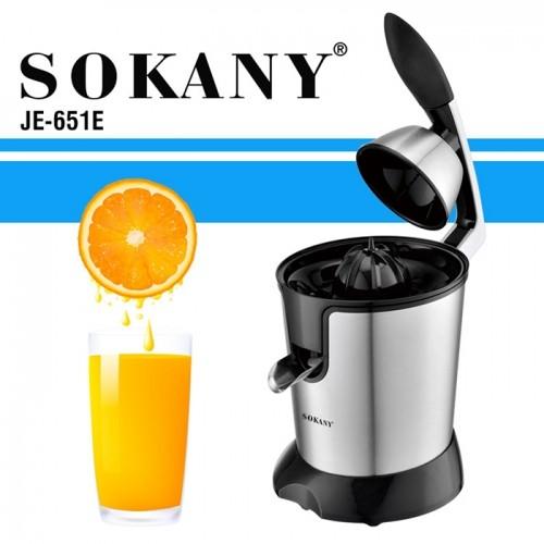 Máy vắt cam bằng điện cho quán SOKANY JE-651E - 350W