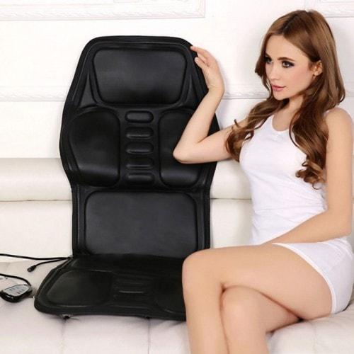 Ghế đệm massage ô tô có nhiệt sưởi tạo nóng MingZhen 308 - 24V