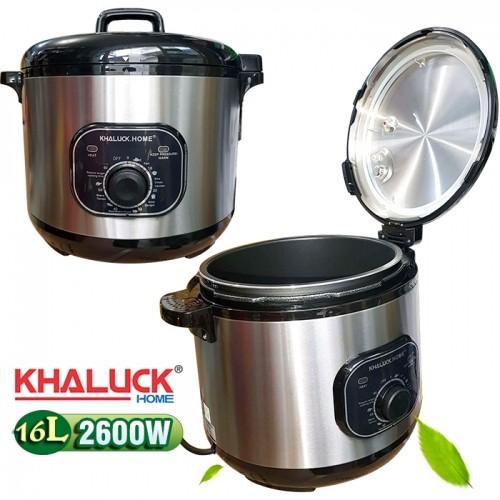 Nồi áp suất điện công nghiệp nắp gài Khaluck Home KL-160 - 16L