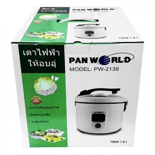 Nồi Cơm Điện Nắp Gài PANWORLD PW-2139 - 1.8L