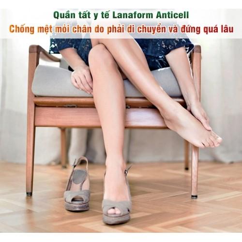 Quần tất y tế chống mỏi mệt và định hình Lanaform Anticell LA0404