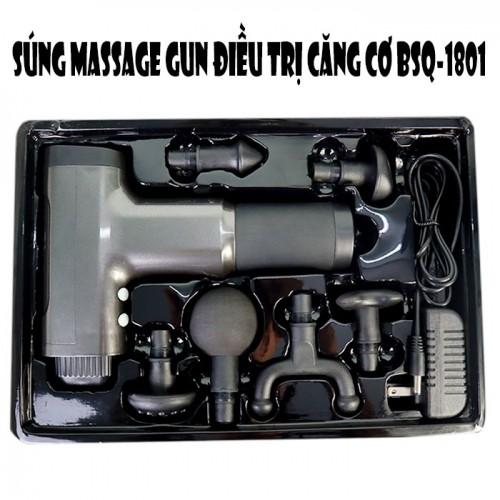 Súng massage gun cầm tay điều trị căng cơ BSQ-1801 - Giá Rẻ