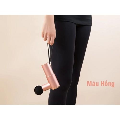Súng massage cầm tay mini điều trị căng cơ bắp Booster Pocket MINI - Hàng chính hãng