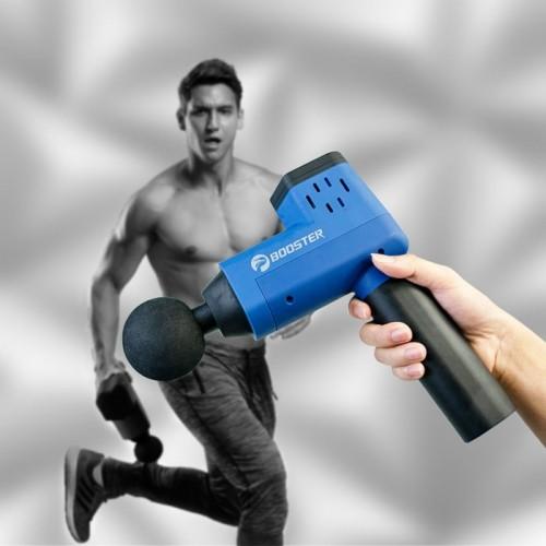Súng massage gun trị đau cơ bắp căng cơ Booster T hàng chính hãng - 126W