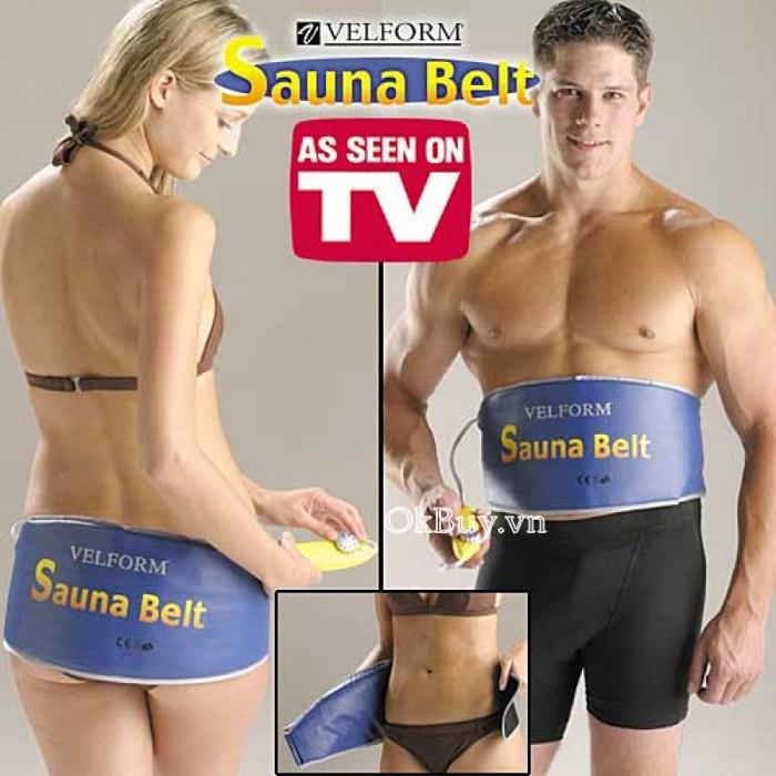 đai xông hơi giảm béo Sauna belt