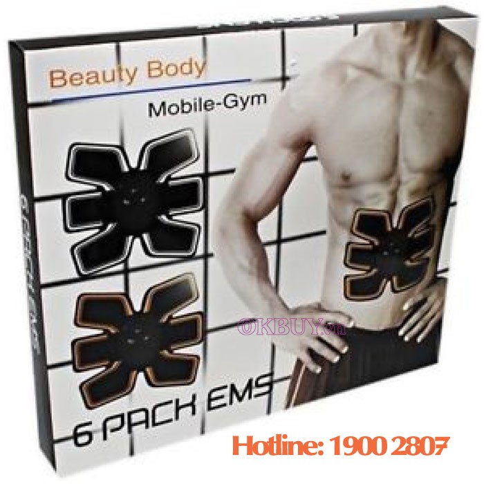 Beauty Mobile GYM 6 Pack EMS