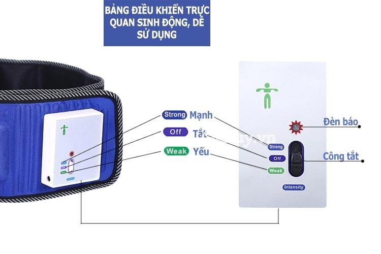 Đai massage bụng không dây pin sạc Hanln X5 HL-601
