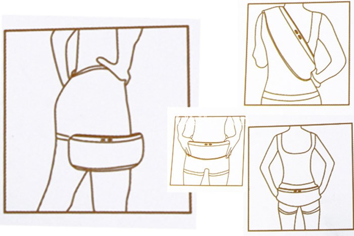 máy massage bụng Vibroshape