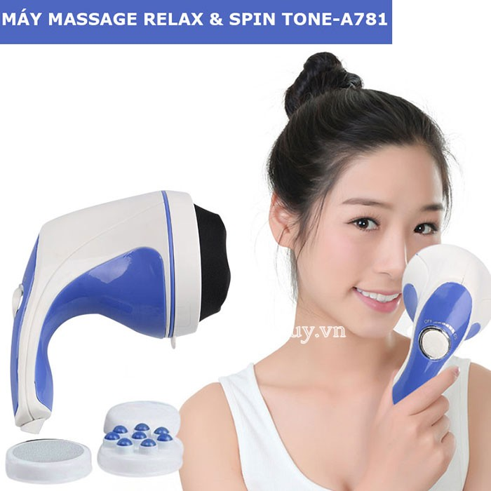 Máy massage cầm tay Relax Spin Tone-A781