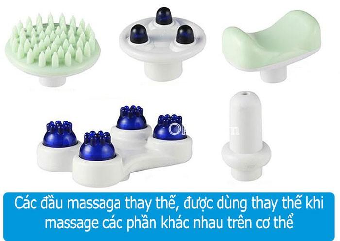 máy massage 7 đầu Squirrel V-999