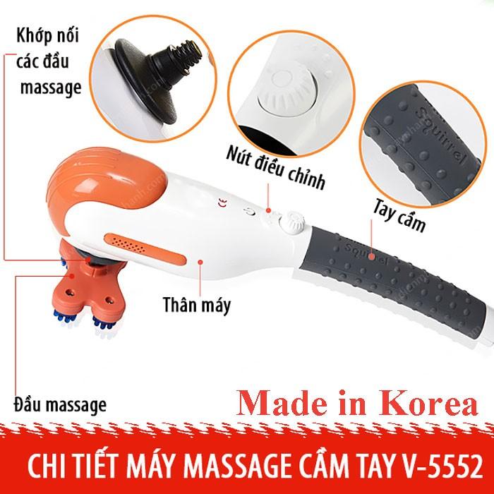 máy massage toàn thân mini Squirrel V-555