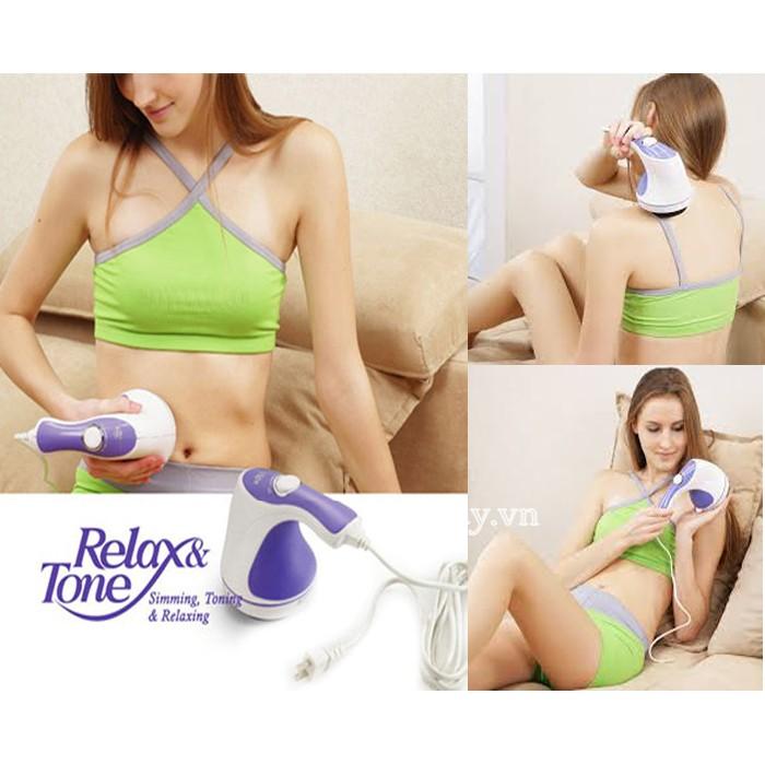 máy massage tay cầm Relax spin tone-A781
