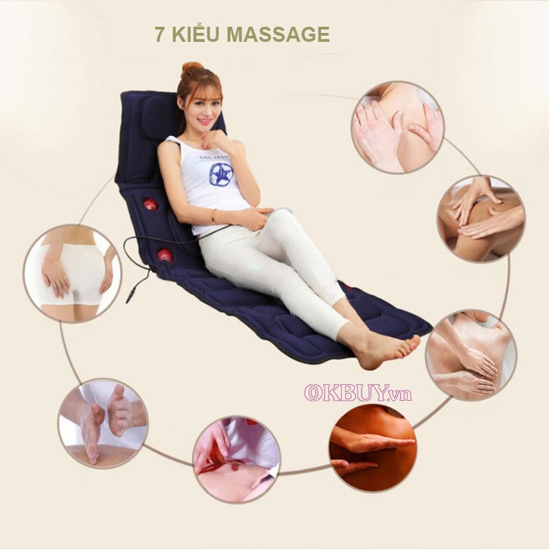 nệm massage JB-618A