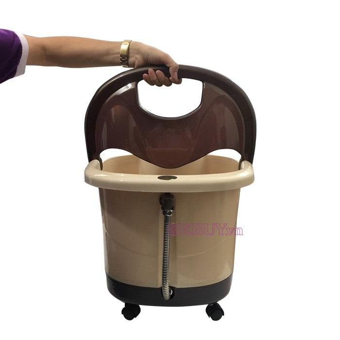 Bồn (chậu) ngâm massage Nhật Bản Nikio NK-195