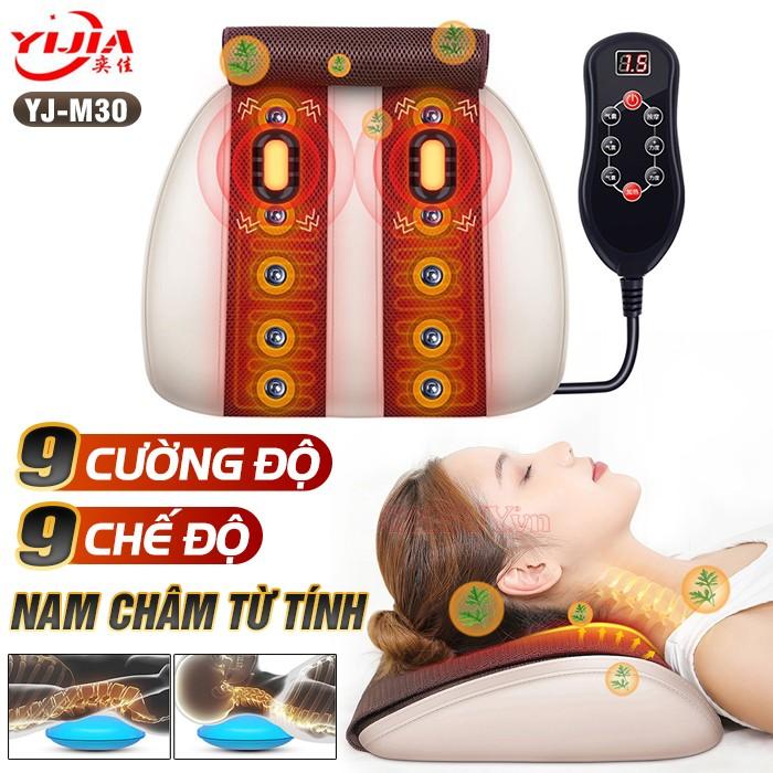 Đệm massage lưng cổ vai gáy YIJIA YJ-M3