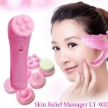 Máy massage mặt 5 trong 1 mini SKIN RELIEF MASSAGER LY-002