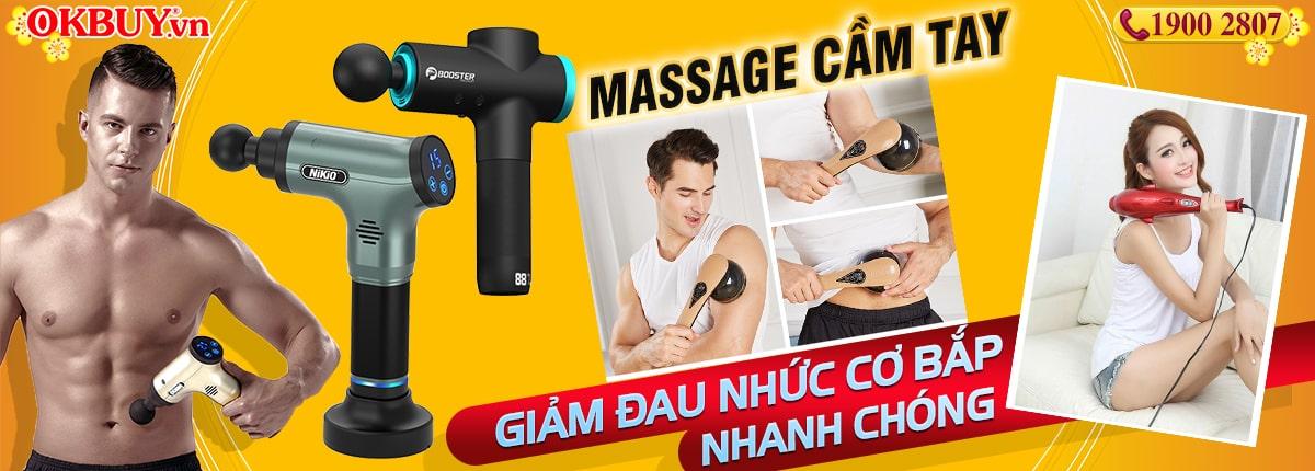 Súng massage cầm tay Nhật Bản Nikio