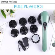 VideoMáy massage cầm tay pin sạc 8 đầu PULI PL-661DC4 - Điện tử