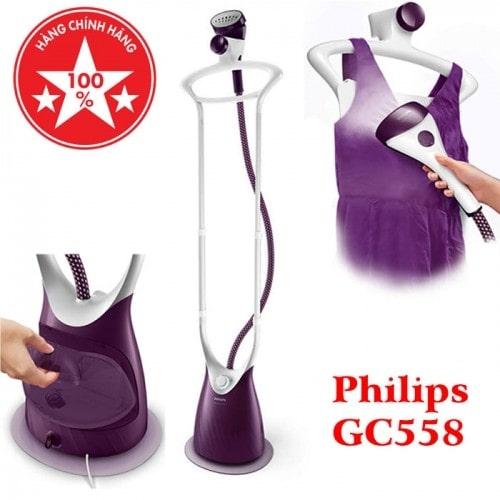Video Bàn ủi hơi nước đứng công nghiệp Philips GC558 - 2000W